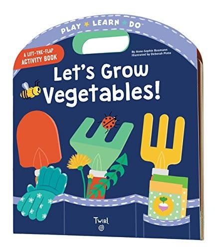 A Lift-The-Flap Activity Book:Let's Grow Vegetables 一起來種菜 手提操作書