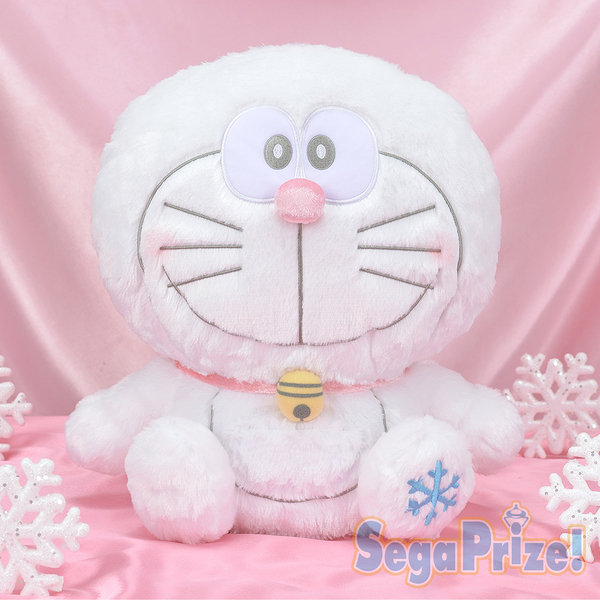 日本SEGA PLAZA 景品 雪白小叮噹絨毛娃娃_SE31935