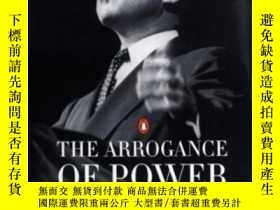 二手書博民逛書店The罕見Arrogance Of PowerY256260 Anthony Summers Penguin
