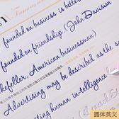 字帖 英文鋼筆三本裝意大利斜英語字帖練習 KB3846【歐爸生活館】