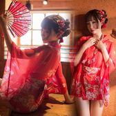 情趣內衣和服女正裝睡衣女開衫櫻花性感學生傳統復古薄款睡裙 炫科技