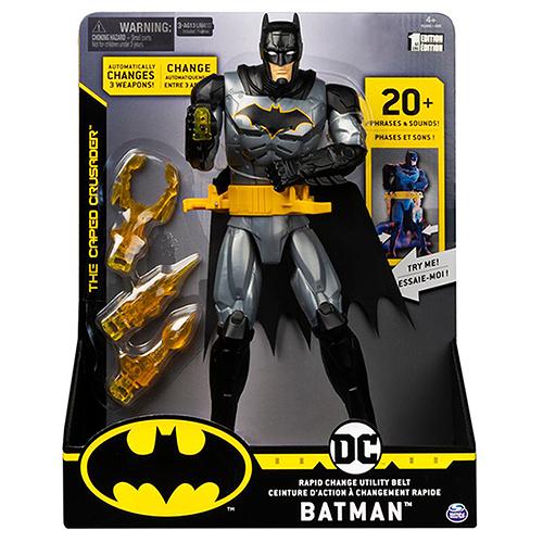 《 DC Universe 》Batman-12吋蝙蝠俠特色可動人偶 / JOYBUS玩具百貨