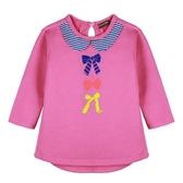 『小鱷魚童裝』蝴蝶結印花洋裝(02號~08號)552301