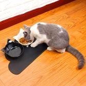 寵物貓碗狗碗狗盆貓食盆貓咪狗狗用品狗食盆雙碗飯盆水碗吃飯糧盆 免運直出 尾牙