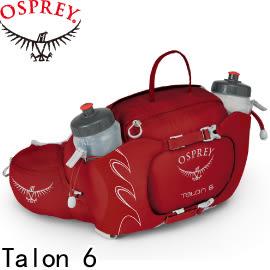 【OSPREY 美國 Talon 6《馬丁紅》輕量腰包】Talon 6/輕量腰包/水袋/登山/健行★滿額送