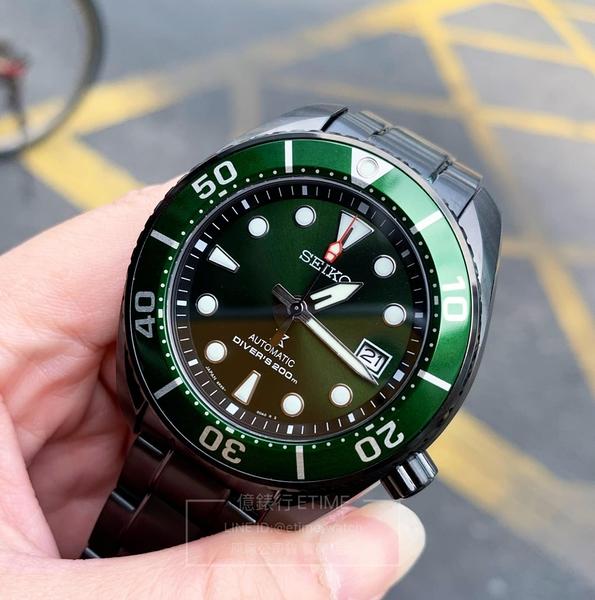 SPB195J1 6R35-01A0G SEIKO 小MM 黑化版 台灣限量版 潛水錶 PROSPEX 機械錶 SUMO