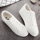 新款夏季街拍厚底小白鞋女皮面鬆糕增高春季正韓百搭基礎板鞋 【快速出貨】