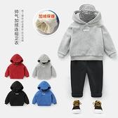 男童套頭加絨刷毛衛衣外套新品上市冬裝秋冬新款童裝兒童寶寶小童潮U10961