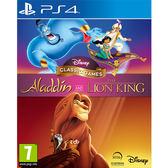 【PS4 遊戲】迪士尼經典遊戲:阿拉丁和獅子王《英文版》
