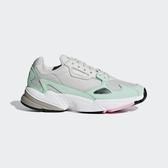 Adidas Falcon W [B28127] 女鞋 運動 休閒 老爹 經典 復古 潮流 灰 粉綠 愛迪達
