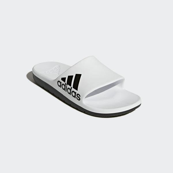 Adidas Aqualette Cloudfoam [CM7927] 男女 運動 涼鞋 拖鞋 休閒 舒適 愛迪達 白