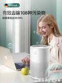 桌面空氣凈化器家用迷你辦公室小型除甲醛除二手煙味 創意家居生活館