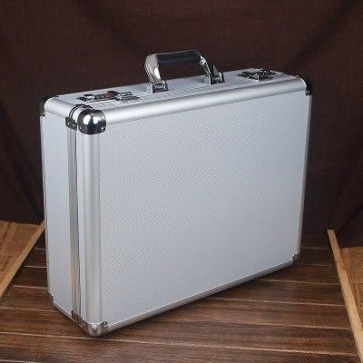 鋁合金工具密碼箱   手提證件收納箱G2097 大號 【藍星居家】