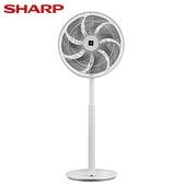 SHARP夏普 16吋 自動除菌離子DC直流馬達立扇DCPJ-H16PGB【愛買】
