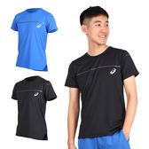 ASICS LITE-SHOW 男短袖T恤 (免運 短T 短袖上衣 訓練 慢跑 亞瑟士≡排汗專家≡