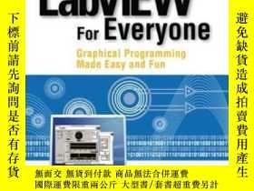 二手書博民逛書店Labview罕見For Everyone: Graphical Programming Made Easy An