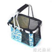 寵物包包 便攜式網格手提貓狗籃子泰迪手提籃貓狗外出箱包狗袋子igo綠光森林