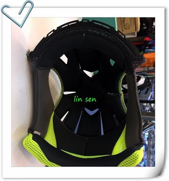 M2R安全帽,J5,專用頭襯