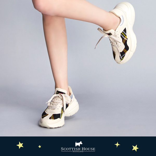 格紋老爹鞋 Scottish House【AJ4602】