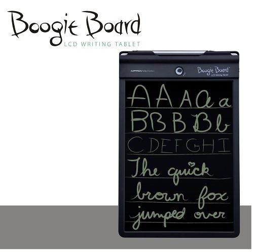 """【展示品】Boogie Board 10.5 """"手寫板 塗鴉板 繪圖板 留言板 繪畫板 環保 (內斂黑)"""