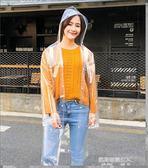 韓國時尚女透明雨衣成人徒步戶外旅行釣魚雨披男性   凱斯盾數位3C