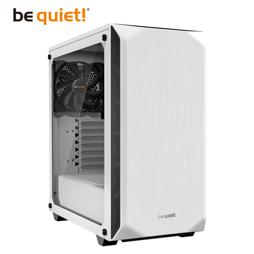 be quiet! Pure Base 500 Window White ATX 強化玻璃側板電腦機殼 白色 BGW35