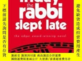 二手書博民逛書店Friday罕見The Rabbi Slept LateY256260 Harry Kemelman Simo