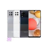 【SAMSUNG】Galaxy A42 5G (6G/128G) 6.6吋八核手機-贈空壓殼+9H玻保+韓版包+指環支架+奈米抗菌噴劑