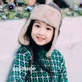 秋冬 保暖神器男女寶寶兒童親子飛行員護耳帽雷鋒帽皮毛 『洛小仙女鞋』