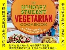 二手書博民逛書店The罕見Hungry Student Vegetarian Cookbook: More Than 200 Qu