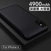 蘋果X背夾充電寶iPhoneX電池背夾式無線超薄8x手機殼專用X  HM  居家物語