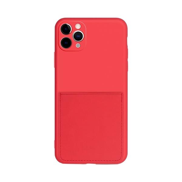插卡液態矽膠 卡匣 口袋 防摔殼 iPhone XR Xs 7/8 plus SE2 蘋果 手機殼