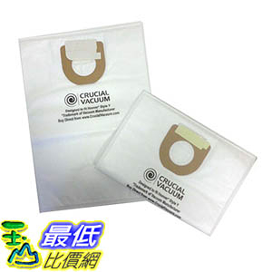 [106美國直購] 18 Type Y Cloth Bags for Hoover Windtunnel Upright Vacuums; Compare to Hoover 4010100Y
