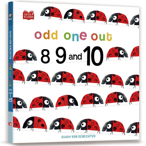 【Listen & Learn Series】Odd One Out. 8, 9 and 10(學著