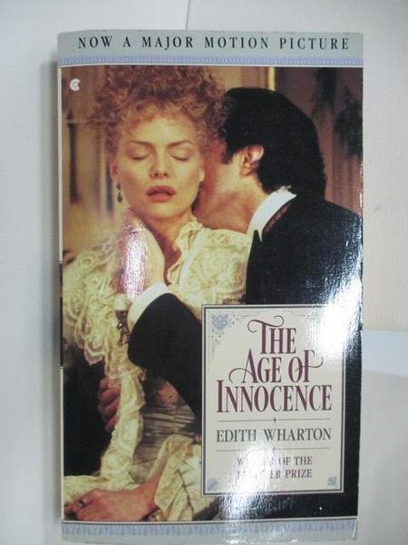 【書寶二手書T4/原文小說_AG5】The Age of Innocence_Edith Wharton