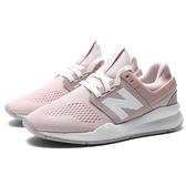 NEW BALANCE 247 粉紅 粉白 襪套 運動 慢跑 休閒鞋 女 (布魯克林) WS247UI