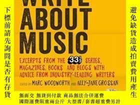 二手書博民逛書店How罕見To Write About MusicY364682 Marc Woodworth Bloomsb
