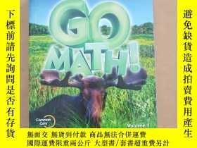 二手書博民逛書店GO罕見MATH! 3 VOLUME 1、2(2本合售)英文原版 未拆封Y11026 Houghton Mif