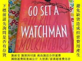 二手書博民逛書店英文原版書罕見Go Set a Watchman 精裝本 Har