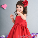 【Lovin` Sweetii】喜洋洋小公主童洋裝~紅色限量款