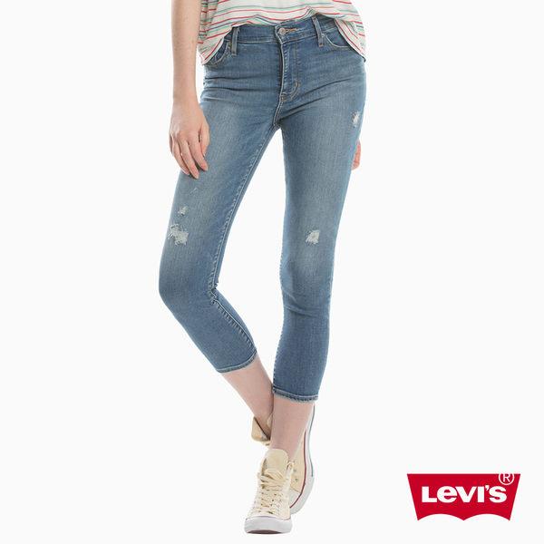 牛仔褲 高腰九分褲 / 721™ 緊身窄管 / 彈性布料 - Levis