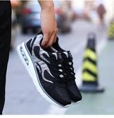 增高鞋 春季學生跑鞋男內增高6cm氣墊跑步鞋百搭男鞋子學生運動休閒網鞋