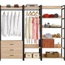 衣櫃 衣櫥 MK-071-345 艾麗斯7尺衣櫥 【大眾家居舘】