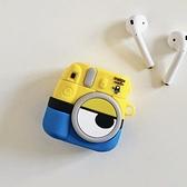 Airpods Pro 專用 1/2代 台灣發貨 [ 小小兵拍立得相機 ] 藍芽耳機保護套 蘋果無線耳機保護