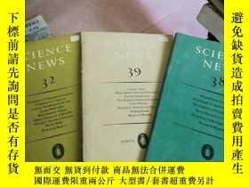 二手書博民逛書店science罕見news 32、38、39、52Y26220