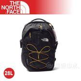 【The North Face 28L 15吋電腦背包《柑橘黃/瀝灰》】NF00CHK4ESN/電腦包/後背包/通勤包