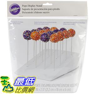 [美國直購] Wilton 415-2264 棒棒糖蛋糕放置架 16孔 Slanted Pops Stand