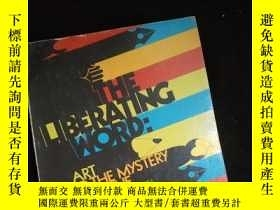 二手書博民逛書店THE罕見LIBERATING WORD:Art and the Mystery of the Gospel (英