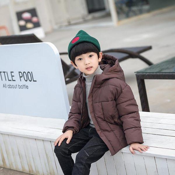 兒童羽絨棉服男童加厚棉衣外套中大童裝連帽棉襖 童趣潮品
