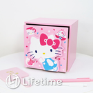 ﹝Kitty45週年單抽盒﹞正版 單抽盒 收納盒 置物盒 化妝盒 凱蒂貓〖LifeTime一生流行館〗